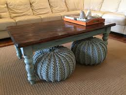 Country Coffee Tables And End Tables Country Farmhouse Style Coffee Table Legs Painted Duck Egg Blue