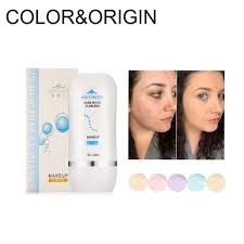 5 colors flawless liquid foundation face makeup base full coverage primer moisturizing concealer waterproof brightening spf 30 msia