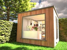 build a garden office. Garden Office With Picture Window 800 X 600 2 Build A