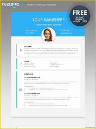 Free Online Modern Resume Templates Modern Resume Template Free Download Of Le Marais Free