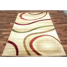 ottomanson rugs orange and green kitchen area rug garden gr collection reviews ottomanson rugs paisley area