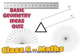 They will also draw 2d shapes using dimensions and angles and make nets for 3d shapes, as well as compare geometric shapes based on their. Cbse Papers Questions Answers Mcq Cbse Class 6 Maths Basic Geometry Ideas Quiz Cbsenotes Eduvictors