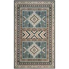 southwestern area rugs classic vintage slate beige 5 ft x 8 ft area rug southwest area