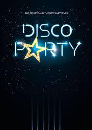 Poster Design Party Disco Party Poster Design Vector Image 1964180