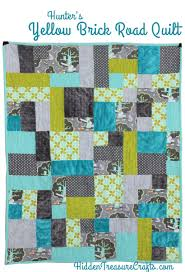 Hunter's Yellow Brick Road Quilt | Hidden Treasure Crafts and ... & Hunter's Yellow Brick Road Quilt | Hidden Treasure Crafts and Quilting Adamdwight.com