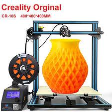 Creality CR-10 S4 3D <b>Printer</b> With Filament Monitor <b>Dual Z</b> Axis ...