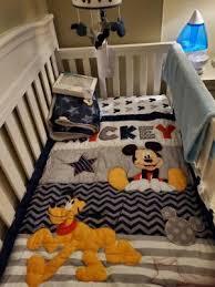 go mickey ii 4 piece crib bedding set
