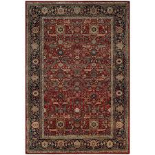 couristan old world classics joan rust navy 7 ft x 10 ft area