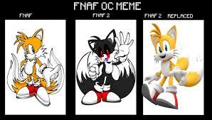 fnaf oc dog. tails animatronic [fnaf oc meme] by mailothedog fnaf oc dog