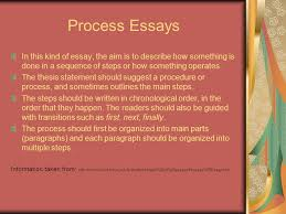 writing midterm review ppt process essays in this kind of essay the aim is to describe how something is