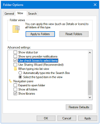 How to Enable Check Boxes to Select Items in Windows 10 File ...
