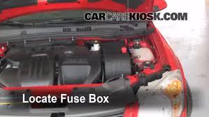 blown fuse check 2005 2010 chevrolet cobalt 2010 chevrolet chevy cobalt 2008 fuse box at Chevy Cobalt 2008 Fuse Box