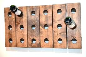 horizontal wine rack metal storage racks small wall r stained glass plans build