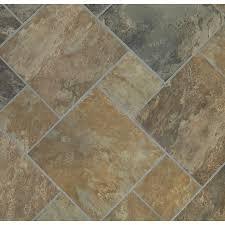 style selections sedona slate cedar glazed porcelain indoor outdoor floor tile common 12
