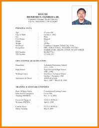 Personal Resume Personal Resume format Awesome Sample Personal Information In 28