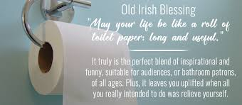 bathroom stall writing. Bathroom Stall Quote: Old Irish Blessing Writing
