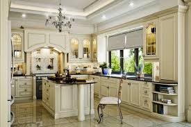 design classic lighting. Picturesque Classic Kitchen Design Luxury In Almost White And Little Black Colored Concept With Lamp Small Book Rack New Lighting