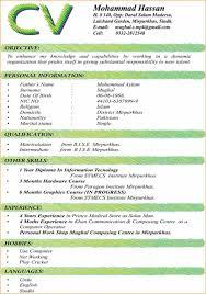 Resume Mbbs Doctor Sample India Cv Format For Doctors Medical