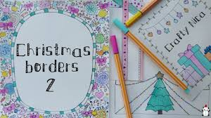 borders for cards notebook covers decoration ideas 2