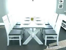 white farm table. Whitewashed Farmhouse Table White Farm Distressed Dining Set F