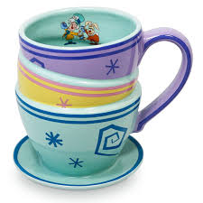 ✅ browse our daily deals for even more savings! Disney Coffee Cup Alice In Wonderland Mad Tea Party