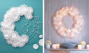 67 DIY Christmas Wreaths  How To Make A Holiday Wreath CraftEasy Christmas Craft Ideas To Sell