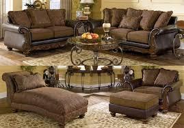 ashley brown living room set