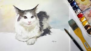 whiskers paint colorHow to Paint Cats Whiskers in Watercolor 1  YouTube