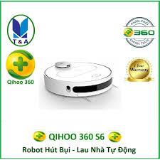 Máy Hút Bụi Lau Nhà Robot Qihoo 360 S6 Vacuum Cleanner - Hãng phân phối  chính thức