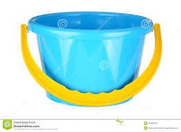 Bucket toy Royalty Free Stock Image