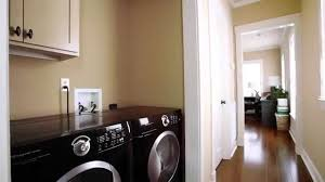 Laundry room makeovers charming small Colors Youtube Hallway Laundry Room Paint Colors Dutch Boy Paint Youtube