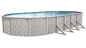 Brilliant Oval Above Ground Pool Meadows Swimming Pools Inside Inspiration Decorating