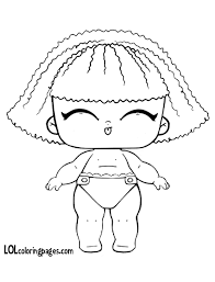 Pranksta Lol Doll Coloring Pages