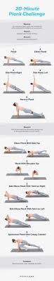 Printable Plank Challenge Workout Popsugar Fitness
