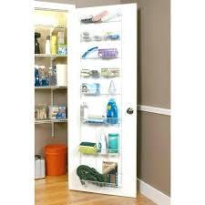 closetmaid shelftrack installation closetmaid rack door storage closet door organizer in x in 8 tier ventilated