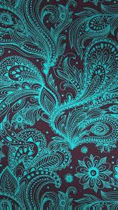 dark cute pattern wallpaper. Plain Dark Paisley Pattern  Black Aqua I Wallpaper Wallpaper Samsung Cellphone  And Dark Cute Pattern