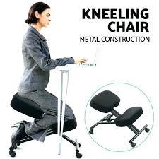 kneeling office chair. Kneeling Desk Chair Office Knee Sit Healthier Ergonomic