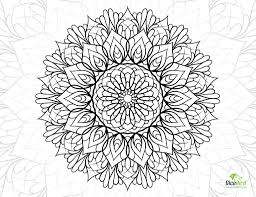 Coloring Pages: Life Flower Free Coloring Pages For Adults Crazy ...