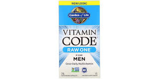 Garden of Life <b>Vitamin Code RAW ONE</b> for Men - Bodybuilding and ...