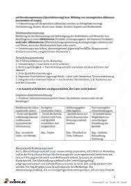 Unidog Zusammenfassung Skript Marketing Prof Dreisk Mper Modul