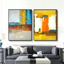 fine large canvas painting abstract painting large canvas wall art tableau decoration salon wall pictures for living room large abstract canvas art