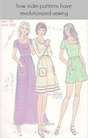 Indie Sewing Patterns Fascinating How Indie Patterns Have Revolutionized Sewing Whileshenaps