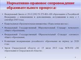 Презентация Аналитический отчет учителя английского языка  Федеральный Закон от 29 12 2012 n 273 ФЗ Об образовании в Российской Федерац