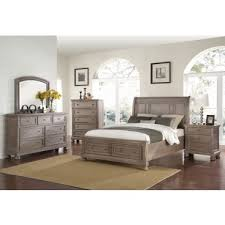 High Quality Allegra Pewter Storage Bed