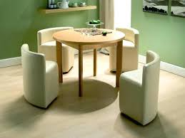 space saver table set cool large size of round space saver dining table and chair set