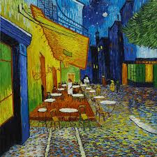 <b>Cafe Terrace At</b> Night Vincent Van Gogh Classic Art Reproductions ...
