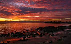 Beautiful Sunset Wallpaper Landscape ...