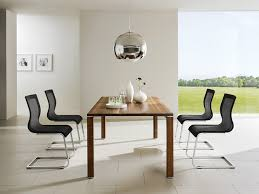 room ergonomic furniture chairs: cubis t dining table and luxury ergonomic dining chairs contemporary dining room
