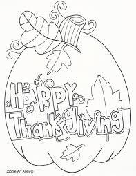 Be sure to visit many of the other holiday coloring pages aswell. Thanksgiving Coloring Pages Doodle Art Alley
