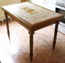Table Basse Carrée Bois Pas Cher Table De Cuisine Carrelee Table De